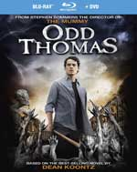 Blu-Ray Cover for Odd Thomas
