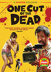 One Cut of the Dead DVD Cover