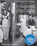 The Criterion Collection Blu-Ray Cover for It Happened One Night