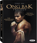 DVD Cover for The Ong Bak Trilogy