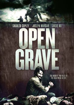 DVD Cover for Open Grave