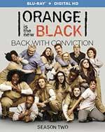 Orange is the New Black - Season 2 Blu-Ray Cover