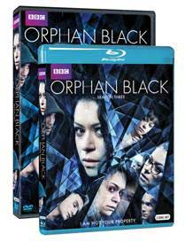 DVD/Blu-Ray Cover for Orphan Black: Season 3