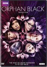 DVD Cover for Orphan Black: Season Four