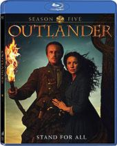 Outlander: Season Five Blu-Ray Cover