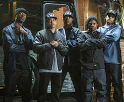 The NWA give you the strength of street knowledge in the top drama film of 2015, Straight Outta Compton.