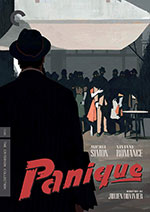 Panique Criterion Collection Blu-Ray Cover