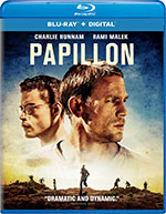Papillon Blu-Ray cover