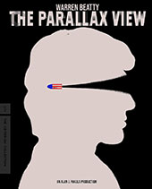 The Parallax View Criterion Collection Blu-Ray Cover
