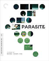 Parasite Criterion Collection Blu-Ray Cover