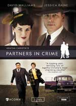 DVD Cover for Agatha Christie's Partners in Crime