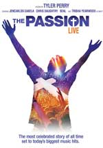 DVD Cover for The Passion Live