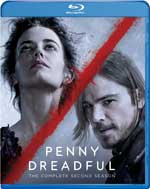 Penny Dreadful - The Complete Second Season Blu-Ray Cover