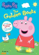 DVD Cover for Peppa Pic: The Golden Boots