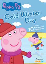 DVD Cover for Peppa Pig: Cold Winter Day