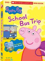 DVD Cover for Peppa Pig: School Bus Trip