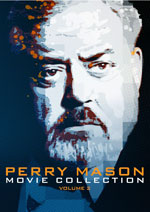 DVD Cover for The Perry Mason Movie Collection - Volume 2