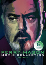 DVD Cover for The Perry Mason Movie Collection Volume Three