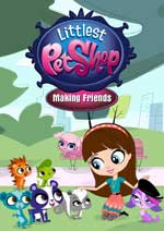 DVD Cover for Littlest Pet Shop: Making Friends