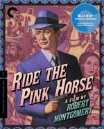 Criterion Collection Blu-Ray Cover for Ride the Pink Horse