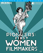 Pioneers: First Women Filmmakers Blu-Ray Cover