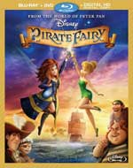 The Pirate Fairy Blu-Ray Cover