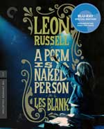 The Criterion Collection Blu-Ray cover for A Poem is a Naked Person