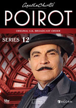 DVD Cover Agatha Christie's Poirot, Series 12