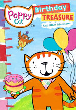 DVD Cover for Poppy Cat: Birthday Treasures and Other Adventures