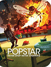 Popstar: Never Stop Never Stopping Blu-Ray Cover