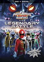 DVD Cover for Power Rangers Super Megaforce: The Legendary Battle