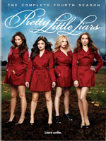 Pretty Little Liars; The Complete Fourth Season DVD Cover