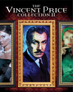 The Vincent Price Collection 2 Blu-Ray Cover