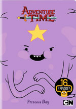 DVD Cover for Adventure Time: Princess Day