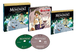 Princess Mononoke Limited Edition Blu-Ray Set