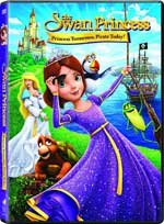 DVD Cover for The Swan Princess: Princess Tomorrow, Pirate Today