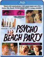 Psycho Beach Party Blu-Ray Cover