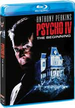 Psycho IV: The Beginning Blu-Ray Cover