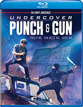 Undercover Punch & Gun Blu-Ray Cover
