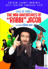 The Mad Adventures of Rabbi Jacob DVD Cover