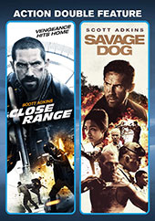 Close Range/Savage Dog Double Feature Blu-Ray Cover
