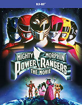 Mighty Morphin Power Rangers: The Movie Blu-Ray Cover