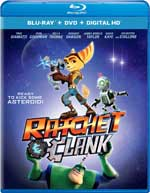 Ratchet & Clank Blu-Ray Cover