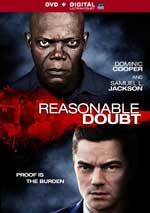 DVD Cover for Reasonable Doubt