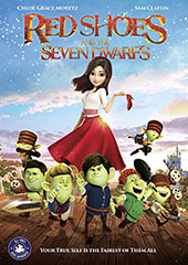 Red Shoes and the Seven Dwarfs Blu-Ray Cover