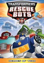 DVD Cover for Transformers Rescue Bots: Heroes of Tech