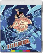 Retaliation Blu-Ray Cover