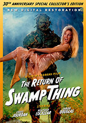 The Return of Swamp Thing DVD Cover
