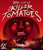 Return of the Killer Tomatoes Blu-Ray cover