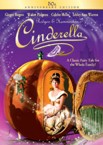 DVD Cover for Rogers & Hammersteing's Cinderella
